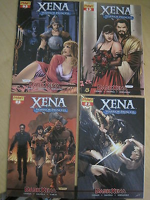 Xena , Warrior Princess, Dark Xena : Complete 4 Issue 2007 Dynamite Series