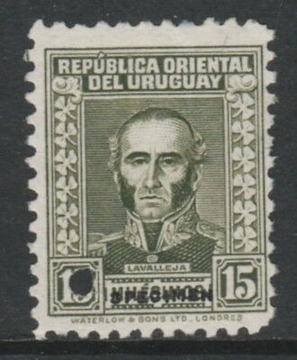 Uruguay 4904 - 1933 LAVALLEJA 15m  PRINTER's SAMPLE