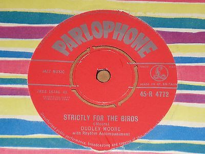 """Dudley Moore """"Strictly For The Birds"""" Parlophone 45"""