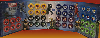 Woolworths MARVEL HEROES DISCS, CHOOSE ANY #1-42, COMPLETE YOUR SET, FREE POST!