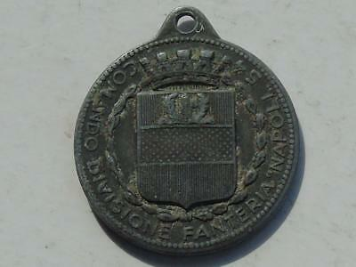 World War II Tinnie Medal or Badge 54th Command Infantry Division Naples WM 30mm