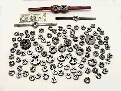 Die lot-machinist die handle - 100 dies - machinist tool lot-tool bundle