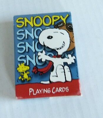 Hoyle Peanuts Snoopy Flying Ace Playing Cards Deck