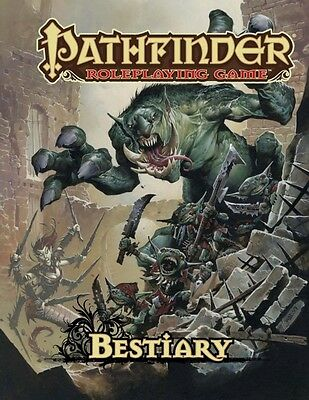Pathfinder Roleplaying Game: Bestiary 1 RPG D&D 3rd Printing