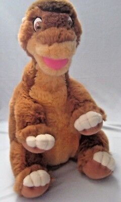 "Little Foot The Land Before Time 16"" Plush Dinosaur Gund Soft & Clean"