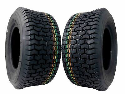 2 Pack MASSFX 16x6.5-8 Lawn mower 16x6.50-8 16x6.5x8 4PLY 7.1mm Tread Depth