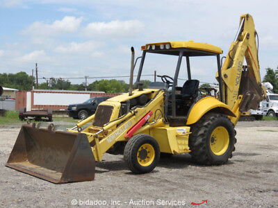 2004 New Holland LB75B Backhoe Wheel Loader Tractor Diesel bidadoo