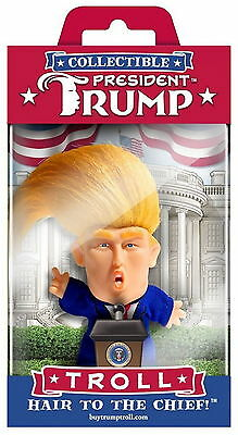 President Donald Trump Collectible Troll Doll Make America Great Again Figure