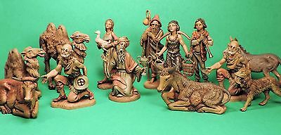 "29 Fontanini (Roman) Nativity Figurines (4"" Size)"