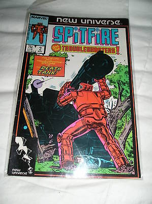 Spitfire and the Troubleshooters (1986) #2 NM/M
