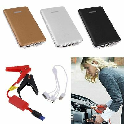 Portable Auto Car Jump Starter Power Bank Battery Charger Booster LED 6000mAh CA