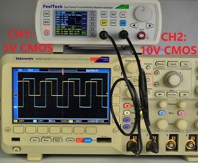 FY6600 15-60MHz Dual Channel DDS Function Arbitrary Waveform Signal Generator co