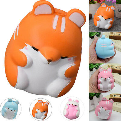 10cm Fun Hamster Squishy Decor Slow Rising Kid Toy Squeeze Relieve Anxiet Gift