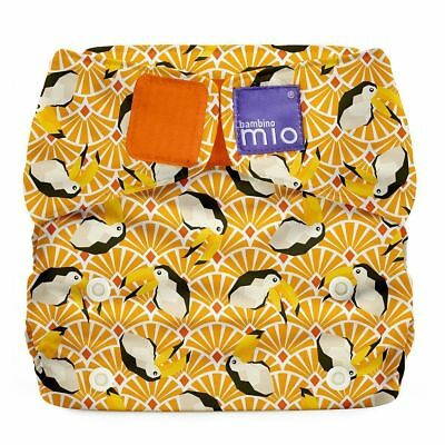 NEW Bambino Mio Miosolo All-In-One Reusable Nappy Onesize Toucan
