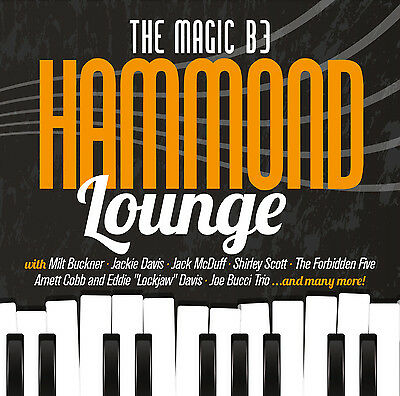 CD The Magic B3 Hammond Lounge von Various Artists 2CDs