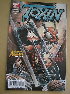 TOXIN ISSUE 2 by MILLIGAN, RAMOS etc. SPIDERMAN. Carnage. Avengers. Marvel. 2005