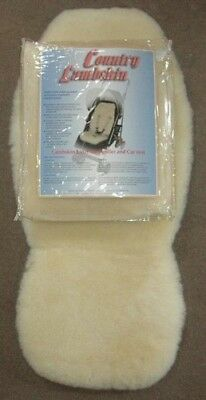 NEW Country Lambskin Stroller Liner - Natural