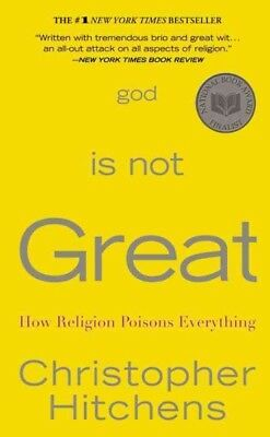 God is not Great, Hitchens, Christopher