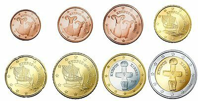1 cent - Circulation coins 2015 Cyprus loose