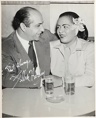Billie HOLIDAY (Singer): Signed Photograph