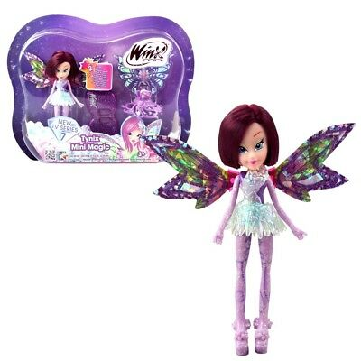 Winx Club - Tynix Mini Magic Puppe - Fee Tecna mit Verwandlungsfunktion