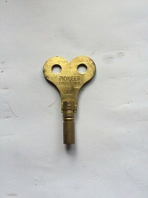 """Clock winding key size 4.75 No 11  1 3/4"""" WIDE MADE IN THE UK More Sizes in are"""