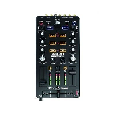 Akai AMX Digital Mixing Surface Controller USB Powered for Serato DJ (Included)