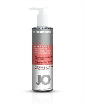 Jo Hair Reduction Serum - 4 Oz. Perfect for Legs Underarms Face Body Intimate