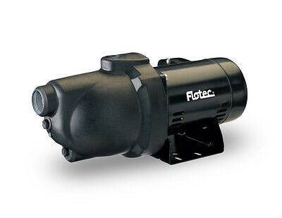 Flotec Thermoplastic Shallow Well Jet Pump FP4012 1/2 HP #FP4012-10