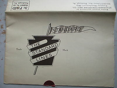 NICE Larger Foldout of Standard Furniture Manufacturing Co. from 1925