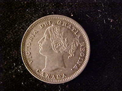 Canada 10 Cents 1900