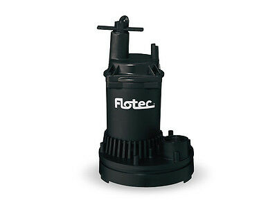 Flotec Water Removal Utility Pump 1/6 HP FP0S1250X 1200 GPH #FP0S1250X-08