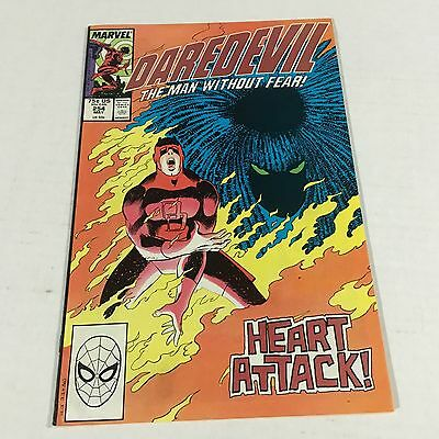 DAREDEVIL #254 Marvel Copper Age Key 1st TYPHOID MARY Appearance #E1 VF+
