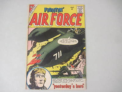 "Fightin' Air Force #22 Charlton Comics 1960 ""the Phantom Jet"""