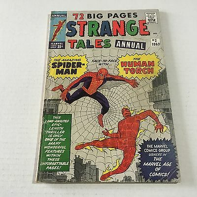 STRANGE TALES ANNUAL #2 Early Spider-Man Marvel Silver Age Key VG/F Tough Book