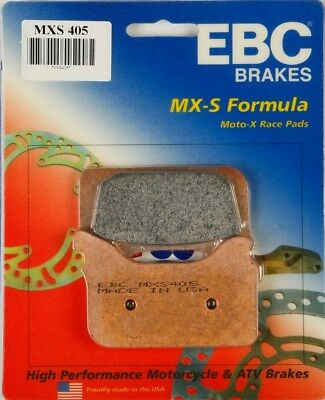 MXS346 One Pair EBC MXS Series Motocross Offroad Race Sintered Brake Pads