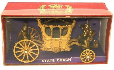 Crescent No. 1303 State Coach Queen Elizabeth Ii Silver Jubilee - Mint & Boxed