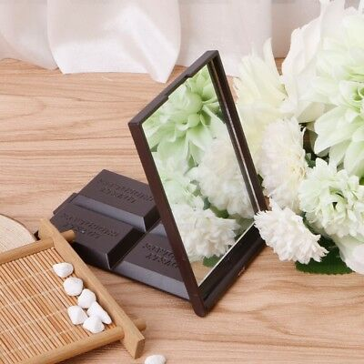 Mini Foldable Cute Chocolate Cookie Shaped Square Pocket Mirror  Makeup Mirror