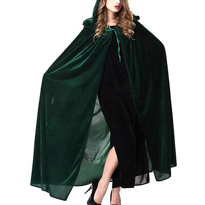 2017 Witch Cloak Coat Cape Hoodies Cosplay Clothing Costume For Halloween Party