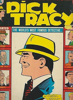 Dc Limited Collectors Edition Vol 4 No C-40  Dick Tracy  1975/6