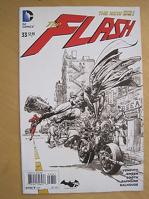 FLASH  33. 1st print. VARIANT COVER. The NEW 52. DC 2014
