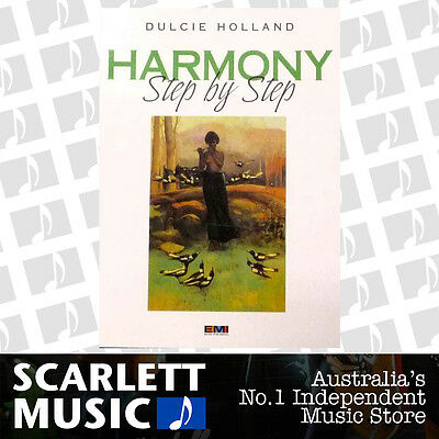 Harmony Step By Step Book *BRAND NEW* Sheet Music, Dulcie Holland