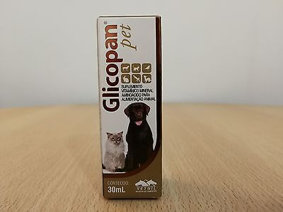 Glicopan Pet 30ml from Vetnil - Vitamins & Supplements for dogs,cats,birds,rept