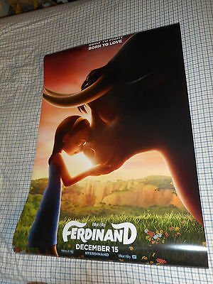 "Kate McKinnon FERDINAND official movie poster one sheet DS 27""x40"" kids film NEW"