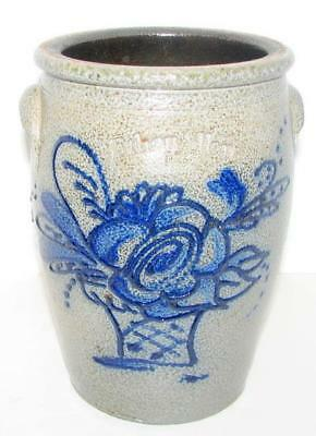 Ethan Allen Rowe Pottery Works Salt Glazed Crock/rpw