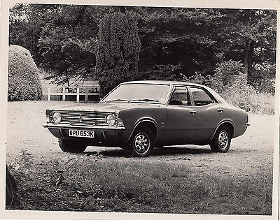 Ford Cortina Mk.3, Xl Four Door Saloon Photograph.