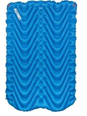 New Klymit Double V Inflatable Sleeping Mat Pad Camping Hiking