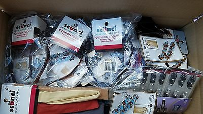 100 pc Hair Accessory Wholesale Lot Scunci Conair Barrettes Head Bands Claw Jaws