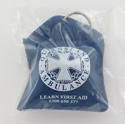 "Queensland Qld Ambulance Promotional ""Learn First Aid"" Pouch, Mint Unopened."