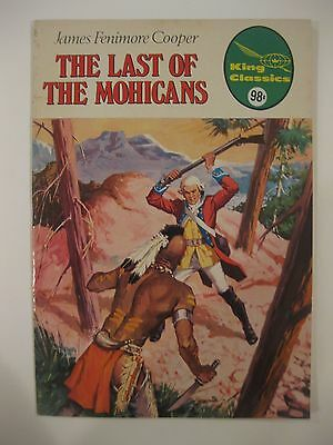King Classics The Last Of The Mohicans James Fenimore Cooper 1977